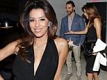 So she IS taken then! Eva Longoria takes handsome new rumoured boyfriend Jose Antonio Baston to glamorous Art Basel event