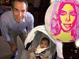 We've never heard of her! Kanye 'didn't ask Warhol cousin to paint Kim'... but couple are cosying up to iconic artist Jeff Koons