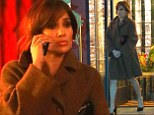 Jennifer Lopez films in Los Angeles