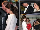 William and Kate leave the film premiere of Nelson Mandela's biopic moments after being told he had died