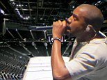 Hardly the second coming! Kanye West's Yeezus tour woes continue as just 4,500 people turn up to show at 19,000 seat arena