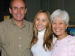 Back on the streets: Amanda Bynes has been released into the care of her parents it has emerged