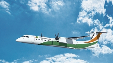 Bombardier Q400 in Air Cote d'Ivoire livery