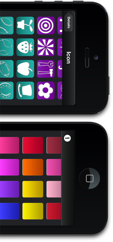 Icons and Colours PassMaker Pro