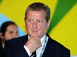 Challenge: England manager Roy Hodgson's side will have to deal with the heat in Manaus after the first game of the Cup was brought forward