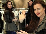 Retail therapy! Kyle Richards gets busy at her Beverly Hills boutique after brushing off suggestions of husband's infidelity