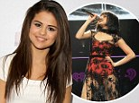 From girl-next-door to lacy lady, Selena Gomez makes a dramatic transformation at the latest KIIS FM Jingle Ball in Los Angeles