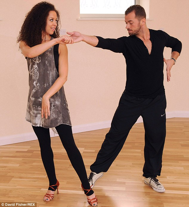 Rigorous rehearsals: The 29-year-old collapsed last month after long hours in the dance studio practising