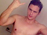 Saucy! James Franco posts a revealing 'selfie' on his Instagram page
