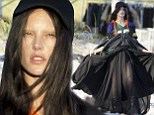 Alessandra Ambrosio makes a bold fashion statement as she gets her eyebrows bleached for bizarre photo shoot