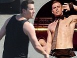 Where has all the Magic gone? Channing Tatum reveals his fuller figure as he films scenes for 22 Jump Street in Puerto Rico