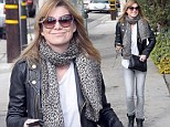 Ellen Pompeo proves she has animal attraction as the actress runs errands in Los Angeles in cat-eye glasses and a leopard print scarf