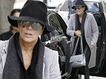 Kris Jenner tries to go incognito