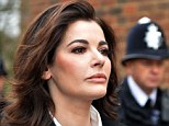 Brave face: Nigella Lawson will bounce back from revelations that she took drugs