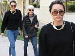 Amanda Bynes grabs lunch with her mother amid claims she has 'enrolled at fashion school' less than a week after leaving rehab