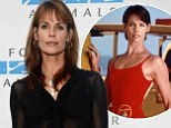 'It's because she's German': Baywatch star Alexandra Paul cites show's cult status as she takes out restraining order against European 'stalker'