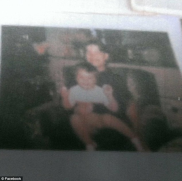 Confirmed: Simecki proved she was Palmer's mother with a birth certificate and several family photos like the one above