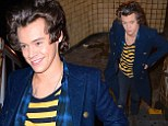 Harry Styles proves he's an everyman as he emerges from New York subway like a normal person