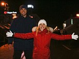 Save the cheerleader, save the world: U.S. actress Hayden Panettiere, pictured with fiance Vladimir Klitschko, spoke to supporters of Ukrainian EU integration during a rally in Kiev