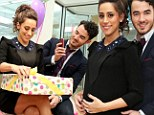 Kevin and Danielle Jonas celebrate second baby shower with Fit Pregnancy magazine