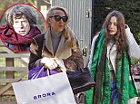 Family time: Mick Jagger invited his ex-wife Jerry Hall and their daughter Elizabeth to his Christmas party