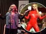 Anything Britney can do! Jamie Lynn Spears mimics some of her sister's famous dance moves as she covers Oops I Did It Again during performance in Georgia