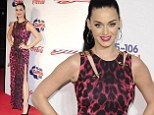 Meow! Katy Perry attends the Jingle Bell Ball at the O2, Peninsula Square, London