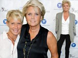 Tied the knot: Meredith Baxter and partner Nancy Locke, shown in June in Los Angeles, were married on Sunday in a small ceremony