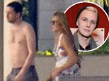 Man at the centre of the alleged Barron Hilton fight is identified as author Ray LeMoine but his representative claims Paris' little brother was to blame for melee