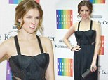 Anna Kendrick dazzles Washington D.C. in ladylike black gown at Kennedy Center Honors