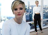 Jennifer Lawrence attends the 'American Hustle' movie junket in New York, NY, USA on December 07, 2013