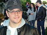 Forget the candelabra, what's behind the baseball cap? Matt Damon wears casual clothes for date with wife Luciana Barroso at The Ivy