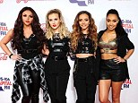 Strapped up! Little Mix looked fierce at the Capital FM Jingle Bell Ball at the O2, London on Sunday evening