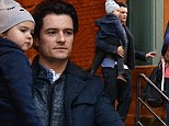 Orlando Bloom takes adorable son Flynn to watch his Broadway play, Romeo And Juliet