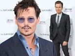 Hollywood buddies Johnny Depp and Ewan McGregor like to speak French to each other when they meet on set