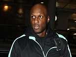Court hearing: Lamar Odom pleaded no contest to DUI charges in a Los Angeles court on Monday, pictured in November at LAX