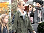 She's turning into Jennifer Garner! Gwyneth Paltrow takes her kids and husband to Mrs. Ben Affleck's favorite organic food spot