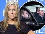 Just don't mention Brad! Gwyneth Paltrow and Chris Martin among guests at Jennifer Aniston's star-studded holiday party