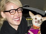 Who's so cute? Katherine is clearly proud of her pooch, who has no teeth and is unable to keep its tongue in its mouth