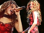 Bounced back: Selena Gomez performed on Sunday in Seattle without any problems after leaving the stage on Friday in Los Angeles due to technical difficulties