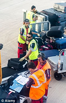 Dispute: Swissport baggage handlers have voted to strike in a row over pay