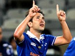 Heading to the Premier League? Everton Ribeiro has said he would be happy to join Manchester United