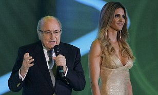Fifth term? FIFA president Sepp Blatter appears set to extend his time in charge at the governing body