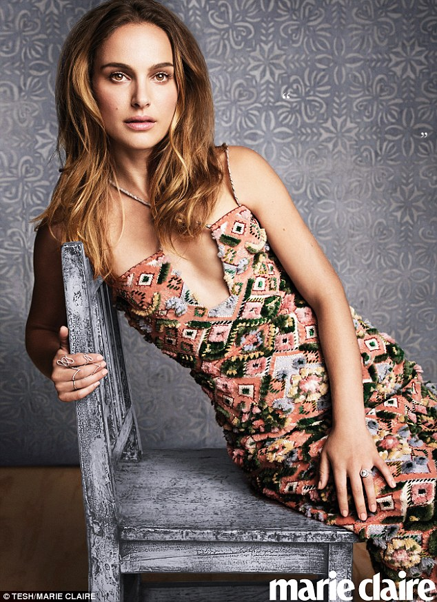 She's back! Natalie Portman dazzles in the November issue of Marie Claire after taking a two year break from the big screen