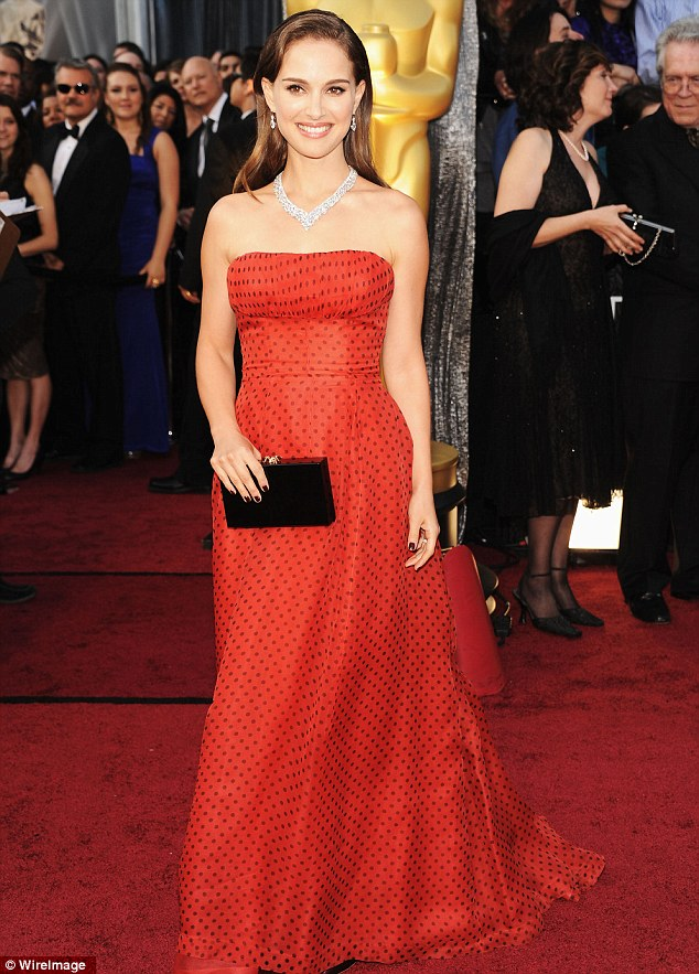 Winner: We haven't seen much of Portman since she scooped awards for Black Swan, she chose red for the Oscars in 2012