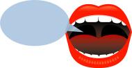 Talking mouth