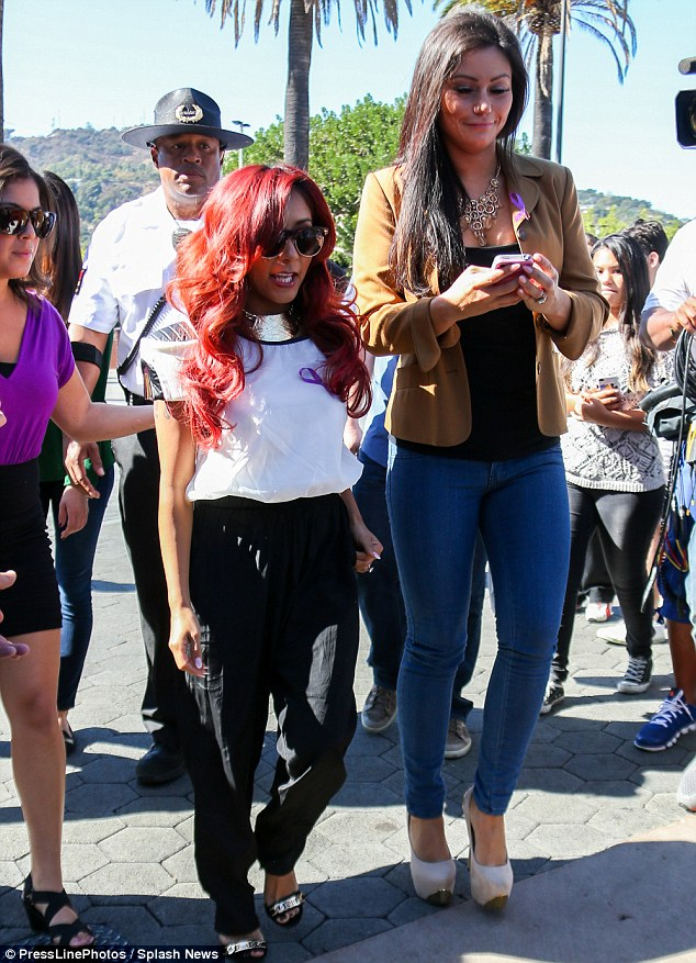 Back to reality: Viewers will see Snooki begin to plan her wedding in the new season of the show