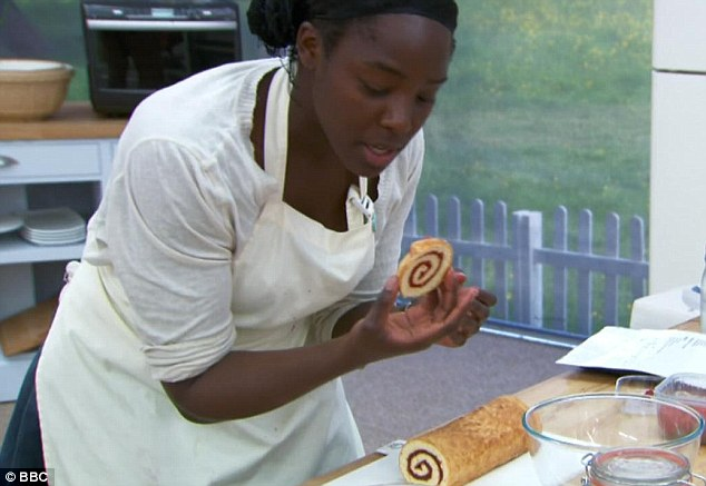 Tough challenge: For the technical challenge the bakers were asked to make a Charlotte Royale