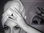 You've got to be kidding? Kim Kardashian compares herself to icon Elizabeth Taylor in most indulgent selfie yet