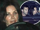 Cougar's out of the bag! Courteney Cox, 49, unveils her much younger boyfriend Johnny McDaid at pal Jennifer Aniston's holiday bash